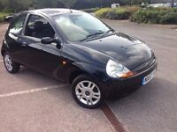 39000 miles from new! 57 Ford Ka Luxury, Leather interior, PAS, Alloys, Cheapest in UK £795 p/ex's