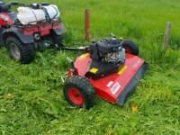 Quad atv logic trm120 grass paddock topper mower farm livestock tractor parts