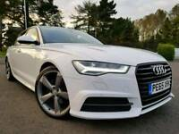 (Glacier White) FACELIFT Sep 2015 Audi A6 2.0 Tdi Sline Black Edition Ultra S Tronic! 18,000 Miles!