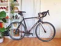 Scott CR1 20 Carbon Racing Road Bike size 58cm XL Shimano 105 2x10spd - Serviced