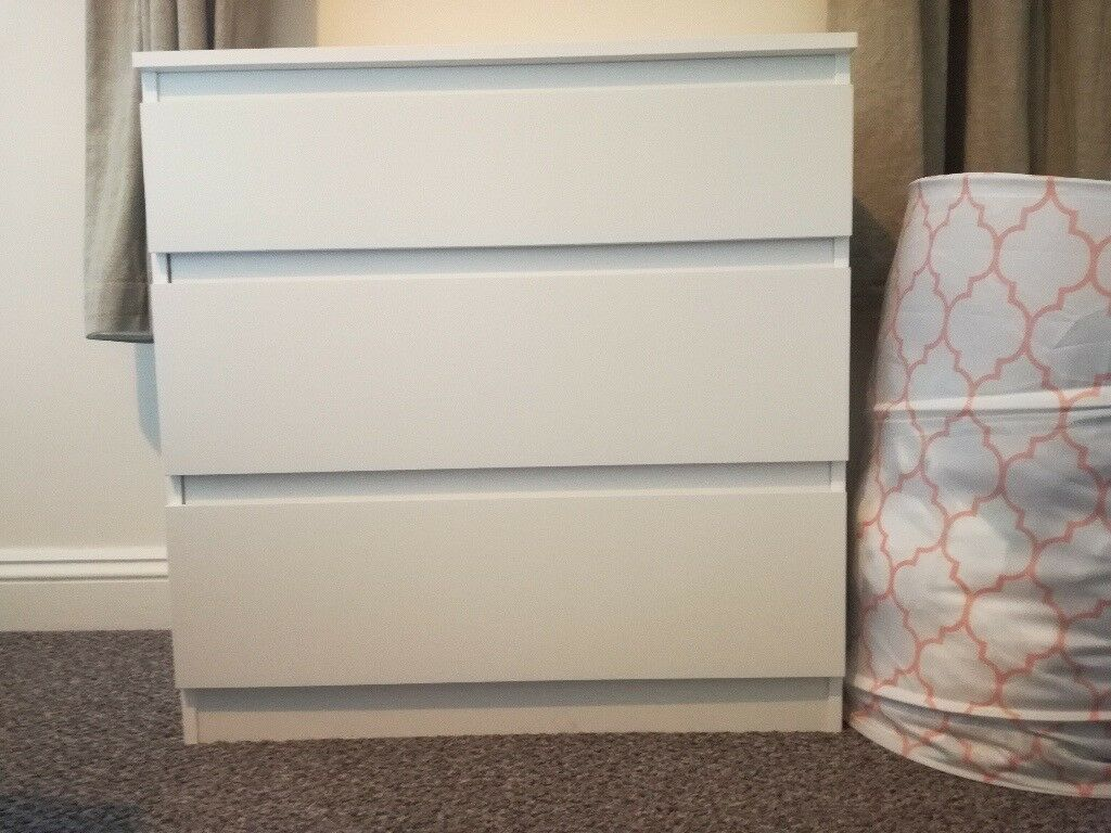 ikea kullen chest of 3 drawers used (6 months). available now. | in