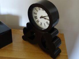 Black mantle Clock