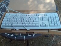 Acer white computer keyboard - model 6512-CX