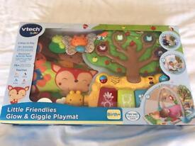 V-tech little friendlies glow and giggle playmat