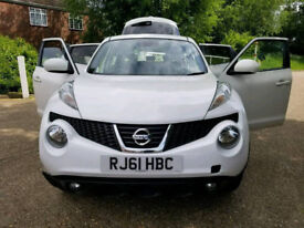2011 61 NISSAN JUKE 5 DOORS - AUTOMATIC - LOW MILES - Full leather
