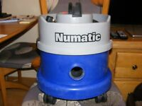 Henry Hoover Numatic Blue base with filter and NEW Full Tool Kit