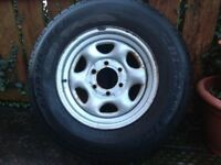 4x4 wheel 6 stud for 4wd Frontera Isuzu Jeep 245 /70 R 16 tyre