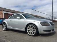 2003 AUDI TT QUATTRO 1.8 COUPE *NEW 12 MONTH MOT* CAMBELT REPLACED *SERVICE HISTORY* HEATED LEATHER