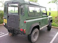 LAND ROVER DEFENDER 90 GALVANIZED CHASSIS 1986 300 TDI
