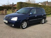 2006 KIA CARENS 2.0 CRDI LX *only 74k *full MOT *credit cards accepted, trade in considered