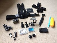 GoPro Hero 4 Silver + Accessory Bundle