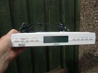 kitchen cupboard radio