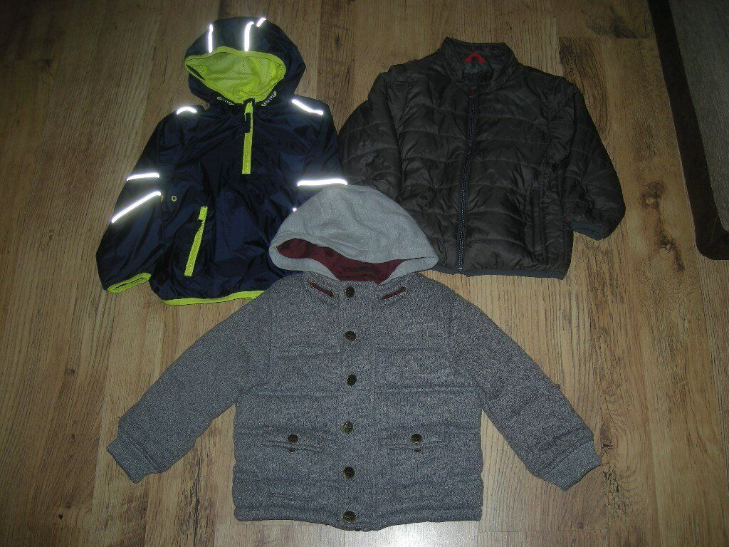 Bundle of boys 3 Winter coats (Gap/Next and M&S) ages 2-3