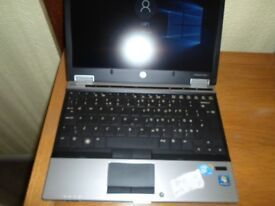 Laptop REDUCED TO CLEAR HP EliteBook 2560p Core i5 2.60 GHz 4 GB RAM 320 GB HDD with Webcam