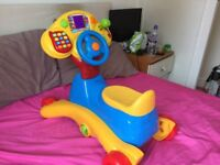 Vtech Grow and Go Ride on rocker walker toddler toy musical BOXED EXCELLENT COND