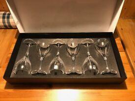 6 x Gleneagles Wine glasses £20 ono