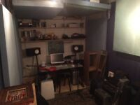 Music Studio Available with Separate Sound booth.