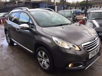 Peugeot 2008 1.6 e-HDi Allure EGC 5dr (start/stop)£7,995 . 1 YEAR FREE WARRANTY