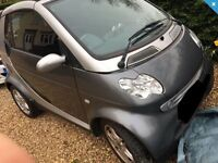 Smart Car Passion Convertible 2003 - reduced to sell for the summer, please read advert