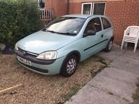 Vauxhall corsa 1.0 club £500 open to offers