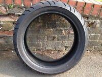 Bridgestone Battlax BT023 180/55 ZR 17 Motorcycle Rear Tyre - Part Worn