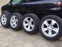 BMW X5 X6 wheels with 255/55 r18 tyres 5x120 t5 vw