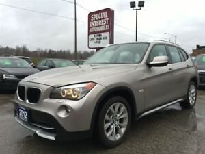 2012 BMW X1 28i DRIVE !! CLEAN CAR PROOF (NO ACCIDENTS) !!