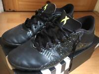 Adidas X 15.4 Black/Yellow Astro Turf Football Trainers Size 8 (42)