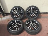 "Vauxhall Limited Edition Alloys CORSA ASTRA ZAFIRA 5STUD 17"" WITH TYRES"