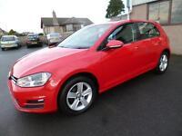 Volkswagen Golf MATCH TSI BLUEMOTION TECHNOLOGY (red) 2014-10-15