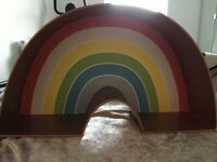 Rainbow shelf Urban Outfitters