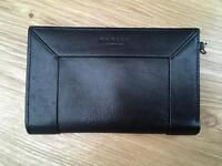 Radley black border leather purse