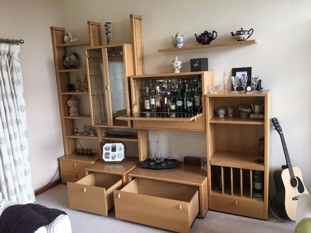 Living Room Furniture Edinburgh living room furniture - german contemporary wall unit | in