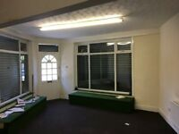 Corner office/ shop to let in gorton on Hyde road facing McDonald's gym and park