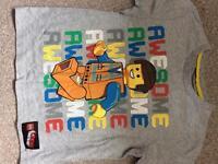 Lego tshirt age 5-6years