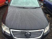 VW PASSAT B6 BONNET BLACK 2006 (BREAKING/SPARES/REPAIRS)