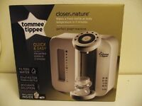 Tommee Tippee Perfect Prep. In exellent used condition,Boxed with accessories.Almost new filter.