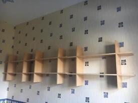 Floating shelves set of 3