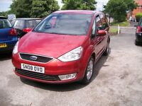 FORD GALAXY ZETEC. 7 SEATER. Red. Full Service History. 1999cc. Alloy Wheels. Air Con. Tinted Glass