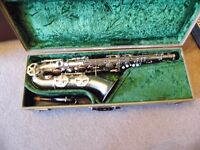 DOLNET BEL AIR TENOR SAX IN NICKEL SILVER PLATE FINISH