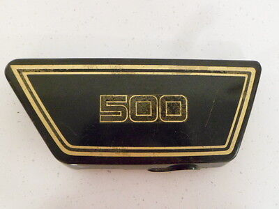 <em>YAMAHA</em> XS500 RIGHT HAND SIDE COVER