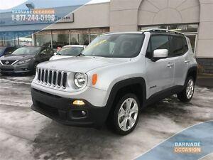 2015 Jeep Renegade Limited *105$/semaines* Cuir- Toit électrique