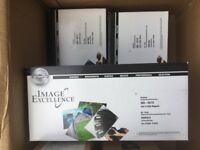 Image Excellence Toners cyan yellow and magenta compatible cartridges