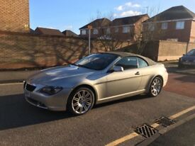 Bmw 6 series 630ci 2005 convertible automatic