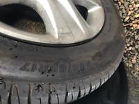 Vauxhall Insignia wheels and tyres 225/55/17