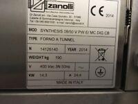 Zanolli 20inch electric conveyor pizza oven
