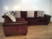 Beautiful DFS corner sofa with free delivery within London