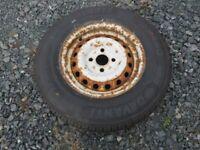 Caravan spare wheel & tyre 13 inch
