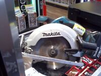 MAKITA DSs611 circular saw. with battery no charger. 6 months warranty.