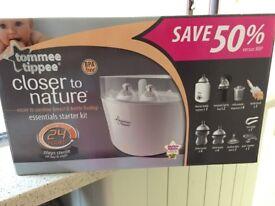 Tomee Tipee Steam steriliser and bottle warmer